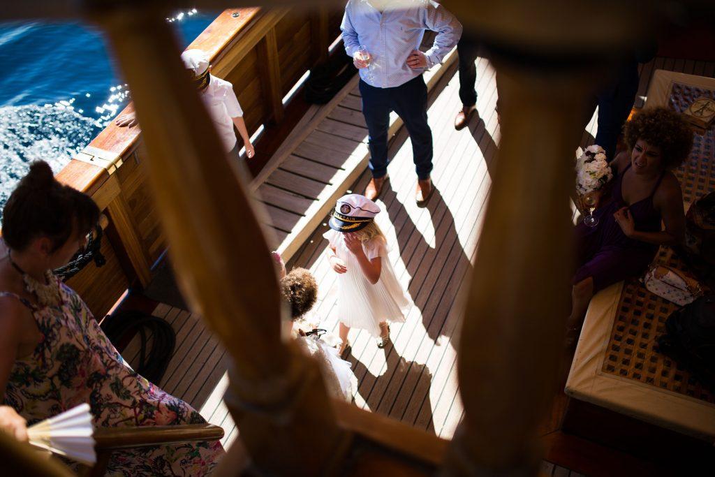 Karaka boat wedding Dubrovnik