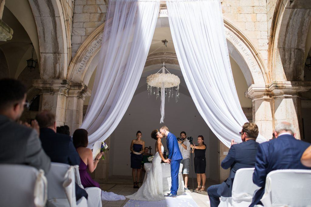 Sponza wedding Dubrovnik