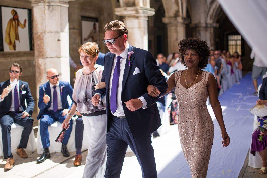Sponza wedding
