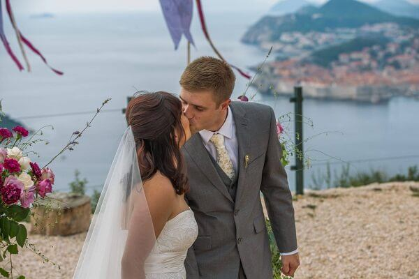 Dubrovnik Weddings sharon peter